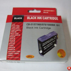 Cartus compatibil NOU Black pentru imprimanta Brother DCP-130C 135C - Cartus imprimanta