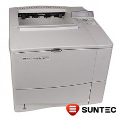 Imprimanta laser HP LaserJet 4100n (retea) C8050A fara cartus, fara cabluri - Imprimanta laser alb negru