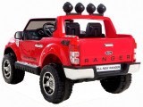 Masinuta electrica Ford Ranger rosu, anvelope din cauciuc si portiere