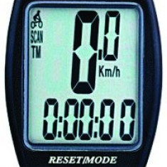 Kilometraj - Vitezometru Digital Bicicleta - wireless - 8 functii  ( AS 4000 )