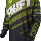 MXE Tricou motocross Shift Assault, negru/verde Cod Produs: 10953151LAU - Imbracaminte moto