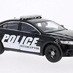 Macheta Ford Interceptor, Police - Welly scara 1:24 - Macheta auto