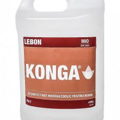 Dezinfectant maini cu aviz biocid, 5L, Konga Mio