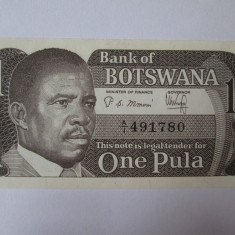 Botswana 1 Pula 1983 UNC - bancnota africa