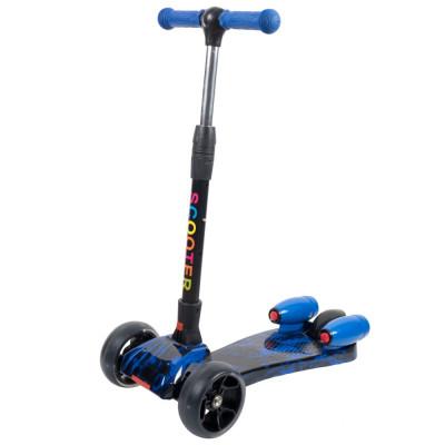 Scooter ROCKET cu lumini si aburi Albastru foto