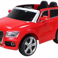 Masinuta electrica Audi Q5 rosu cu portiere - Masinuta electrica copii