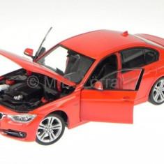 Macheta BMW 335i (F30) - Welly scara 1:24 - Macheta auto