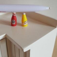 Ketchup si Mustar - set miniaturi papusi