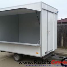 Rulota comerciala noua in stoc 3000x2000x2300 - Utilitare auto