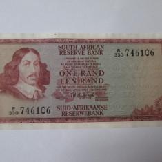 Africa de Sud 1 Rand 1973 aUNC - bancnota africa