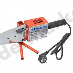 Trusa sudat tevi PPR Everpro SS63C cu foarfeca boloboc si ruleta 1500W