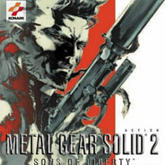 Metal Gear Solid 2 Sons of liberty - PS2 [Second hand] - Jocuri PS2, Actiune, 16+, Single player