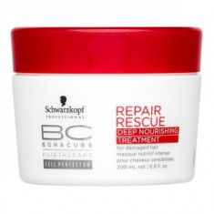 Schwarzkopf Professional BC Bonacure Repair Rescue Deep Nourishing Treatment masca pentru păr deteriorat 200 ml
