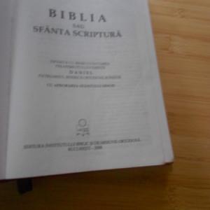 BIBLIA ORTODOXA 2008 - 1416 PAGINI + ILUSTRATII