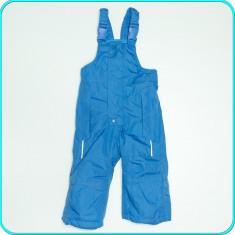 Pantaloni— salopeta iarna, impermeabili, IMPIDIMPI→ copii | 9—12 luni | 74—80 cm, Marime: Alta, Culoare: Bleu, Baieti