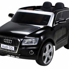 Masinuta electrica Audi Q5 negru cu portiere - Masinuta electrica copii