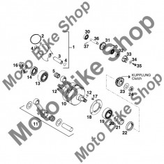 MBS Semering 10x22x6BSL pompa apa KTM 125 E-XC WP Europe 1995 #32, Cod Produs: 0760102260KT - Simering pompa apa Moto