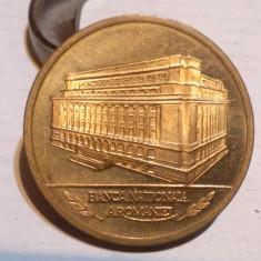 INAUGURAREA MUZEULUI BANCII NATIONALE - 1997, medalie Romania - Medalii Romania