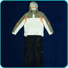 Costum ski dama, geaca+pantaloni iarna, impermeabil, EXXTASY→ femei, marimea 36 - Echipament ski