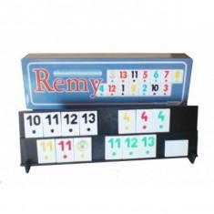 Joc de remi sau rummy, fabricat in Romania