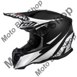 MBS Airoh Helm Mx Twist Freedom Black Matt, Schwarz Matt, L=59-60, P:16/093, Cod Produs: TWFR35LAU - Casca moto