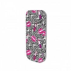 Sticker IQOS personalizare, autocolant removable iSMOQ pink lipstick - Accesoriu tigara electronica