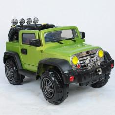 Masinuta Electrica Jeep cu Telecomanda Verde - Masinuta electrica copii