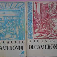 Decameronul - Giovanni Boccaccio - vol 1 si 2 - Roman
