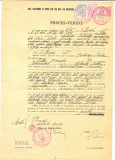 Z124 DOCUMENT VECHI- ACT DESTINAT A TINE LOC DE ACT DE NASTERE -PRIMARIA BABADAG