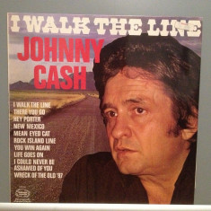 JOHNNY CASH - I WALK THE LINE (1984/HALMARK/UK) - Vinil/Analog/Impecabil (NM) - Muzica Country warner