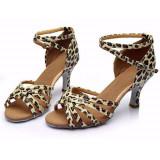 Sandale (pantofi) de dans animal print marimea 37 - noi!, Din imagine
