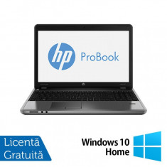 Laptop Refurbished HP ProBook 4545s, AMD A4-4300M 2.50 GHz, 4GB DDR3, 500GB SATA, DVD-RW + Windows 10 Home - Monitor LCD HP, 19 inch