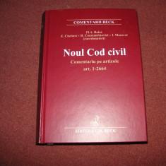 Noul Cod civil - Comentariu pe articole: art. 1-2664 - Flavius-Antoniu Baias - Carte Drept civil