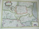 Valahia Serbia Bulgaria Romania J. Hondius 1630 Amsterdam dupa G. Mercator 032