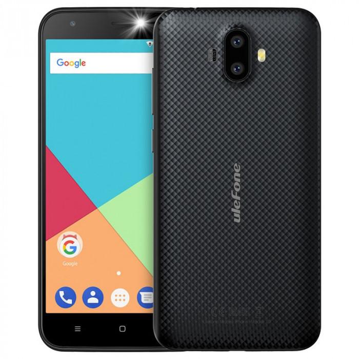 Ulefone S7, 3G, Dual SIM, 8GB, Android 7.0, Negru foto mare