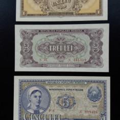 Bancnote romanesti serie rosie 1952 unc - Bancnota romaneasca