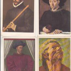 Bnk cp Pictura - lot 16 carti postale necirculate - Carte postala tematica, Necirculata, Printata