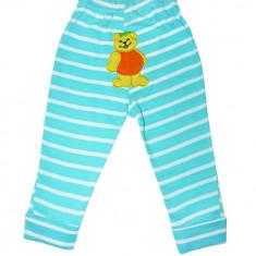Pantaloni Carters bleu cu model ursulet