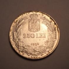 250 lei 1939 AUNC - Moneda Romania