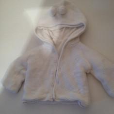 Jacheta copii 12 luni, Marime: XS, Culoare: Alb