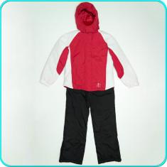 Costum ski, geaca + salopeta, impermeabil, ETIREL→ fete | 13—14 ani | 164 cm - Echipament ski Etirel, Copii