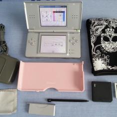 Consola Nintendo DS Lite MODATA 100 jocuri Mario GTA Fifa NFS + boxa externa etc