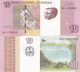 Angola 10 Kwanzas 2012 UNC