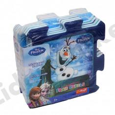 Covor din burete tip puzzle Frozen