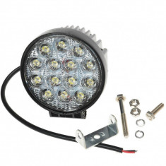 Proiector LED 42w 30° 12/24V offroad SUV