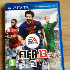 Joc Ps Vita Fifa 2013 - Jocuri PS Vita, Sporturi, 3+