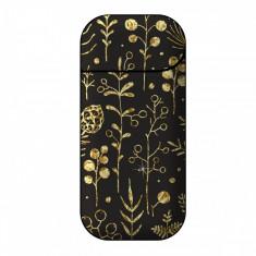 Sticker IQOS personalizare, autocolant removable iSMOQ podoabe aurii - Accesoriu tigara electronica