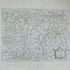 Transilvania 1623 Nicolaus Bellus Frankfurt Transylvania harta alb - negru 040
