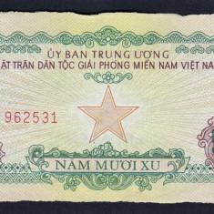 Vietnam Sud 50 Xu 1963 - bancnota asia