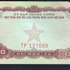 Vietnam Sud 20 Xu 1963 - bancnota asia